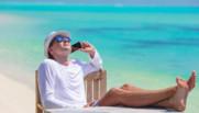 vacances mer plage vacanciers téléphone smartphone portable