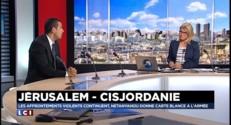 """Violences en Israël : """"Ces actes traduisent une exaspération face au vide politique"""""""