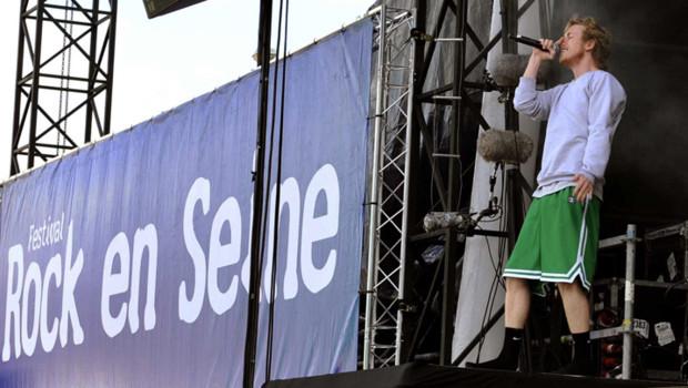 Asher Roth au festival Rock en Seine (28 août 2009)