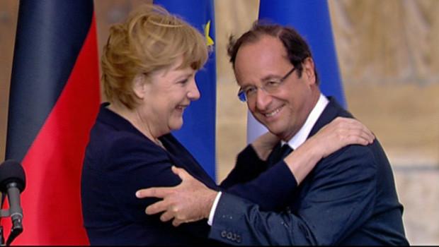 François Hollande et Angela Merkel célèbrent 50 ans d'amitié franco-allemande
