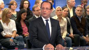 """François Hollande, invité de l'émission """"Des paroles et des actes"""" jeudi soir sur France 2"""