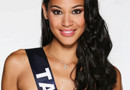 Hinarere Taputu, Miss Tahiti 2014, prétendante au titre de Miss France 2015