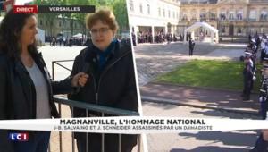 """Hommage national aux policiers tués à Magnanville : """"un moment de grande émotion"""""""