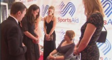 Kate Middleton au gala SportsAid