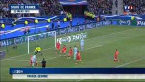 Le 20 heures du 26 mars 2013 : Football : les Bleus d�ent l%u2019Espagne - 149.6099972190857