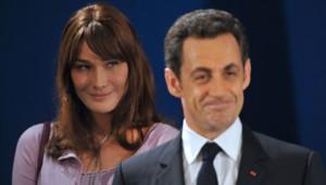 Carla Bruni-Sarkozy Nicolas Sarkozy