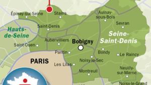 Carte de Pierrefitte-sur-Seine en Seine-Saint-Denis.