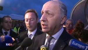 """Fabius : """"Nous avons maintenant malheureusement trois victimes à déplorer"""""""