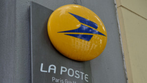 La Poste à Paris. Image d'illustration.