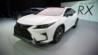 Lexus RX Salon New York 2015