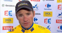 Tour de France : Voeckler s'accroche au maillot jaune