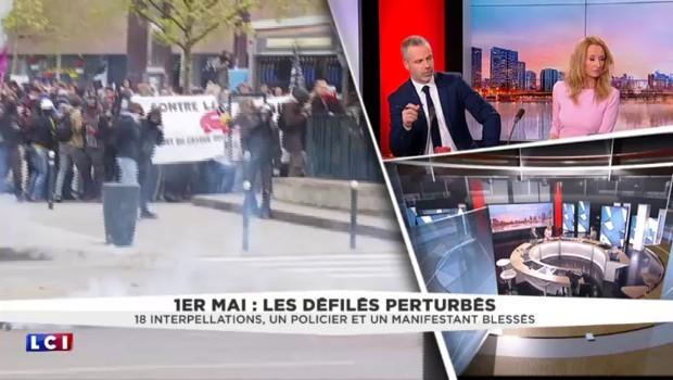 """1er mai perturbé : """"Les casseurs ne sont pas les victimes"""""""
