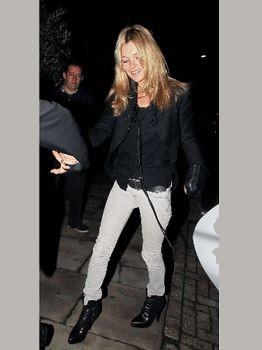 Kate Moss en low boots !