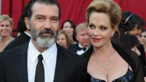 Antonio Banderas et Melanie Griffith aux Oscars en mars 2010