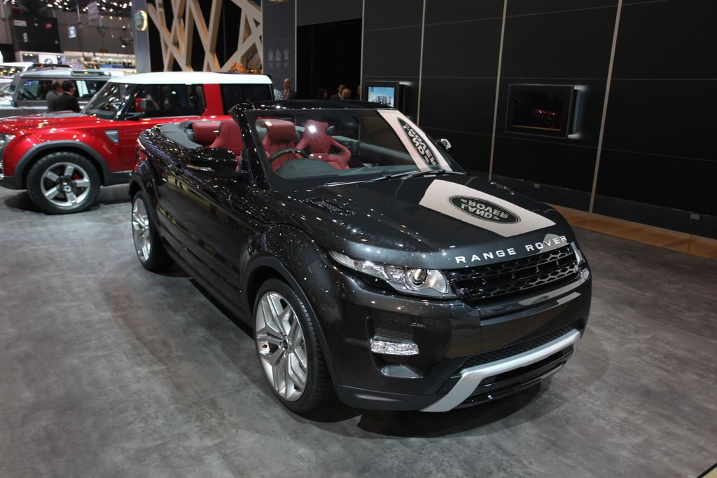 photos automoto range rover evoque cabriolet concept au. Black Bedroom Furniture Sets. Home Design Ideas