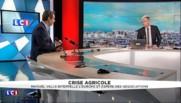 """Crise agricole : Fleury Michon propose une """"alimentation de meilleure qualité"""", une """"voie de sortie par le haut"""""""