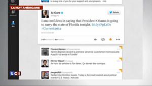 """Elections USA 2012 : """"20 millions de tweets, un record"""""""