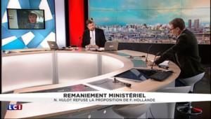 """Nicolas Hulot refuse le ministère de l'Écologie : """"Ce n'est pas étonnant"""""""