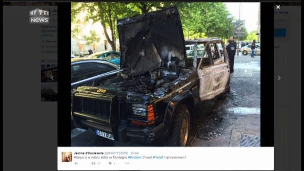 Paris : une boutique Chanel attaquée à la voiture-bélier, les premières images