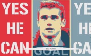 """""""Antoine Griezmann, yes he can"""", la chanson pour remercier l'attaquant français"""