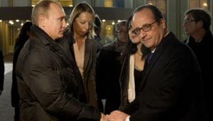hollande Poutine entrevue Moscou 6 décembre 2014