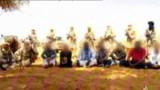 Image de la vidéo d'Al-Jazira diffusée le 30 septembre 2010 montrant les otages enlevés au Niger
