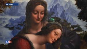 La « Sainte-Anne » de Léonard de Vinci à l'honneur au Louvre
