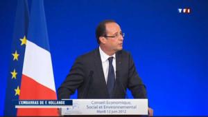 Le Tweet de Trierweiler embarrasse le camp Hollande