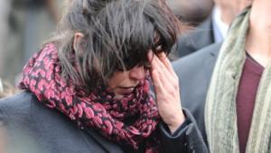 Sophie Marceau aux obsèques d'Andrzej Zulawski en février 2016
