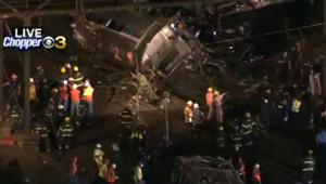 Un train a déraillé à Philadelphie dans la nuit de mardi à mercredi 13 mai 2015, faisant des morts et des blessés