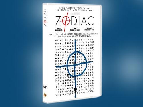 Zodiac en DVD