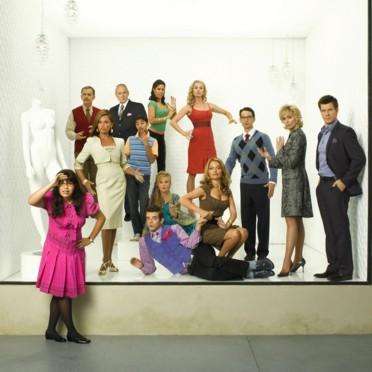 people : Ugly Betty : America Ferrera, Judith Light, Eric Mabius, Michael Urie, Vanessa Lynn Williams