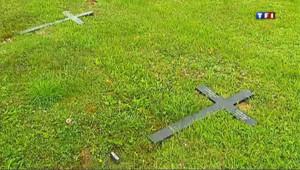 45 tombes avaient été profanées ce week-end dans un cimetière militaire des Ardennes où reposent des soldats allemands.
