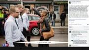 Sa photo a été partagée dans le monde : une femme devient symbole de l'antiracisme en Suède
