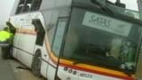 Espagne : un autocar marocain se brise en deux