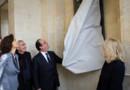 François Hollande inaugure le Pavillon Dufour au Château de Versailles.