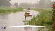 Inondations : à Laventie, près de Béthune, de nombreuses routes impraticables