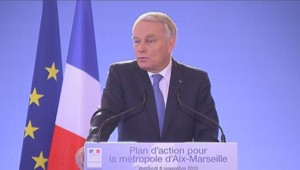 Jean-Marc Ayrault à Marseille (08/11/2013)