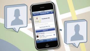 Le service Facebook Places lancé en août 2010 aux Etats-Unis.