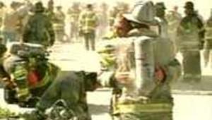 pompiers attentat