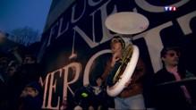 Attentats : colère, espoir… Les murs de Paris portent les hommages des grapheurs