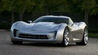 Corvette Stingray Concept - De face