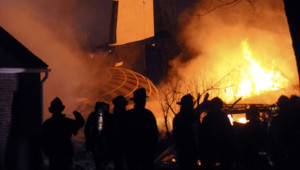 Les premières images du crash de Buffalo, le 13 février 2009