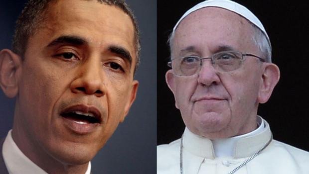 Pape François Barack Obama