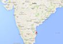Carte de localisation de Chennai, en Inde