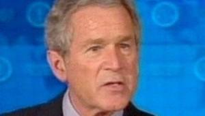 George Bush président états unis discours sur l'iran