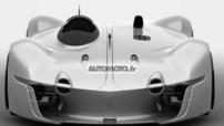Images scoop du concept-virtuel Renault Alpine Vision Gran Turismo dévoilé début 2015 pour le jeu GT6 sur Playstation 3