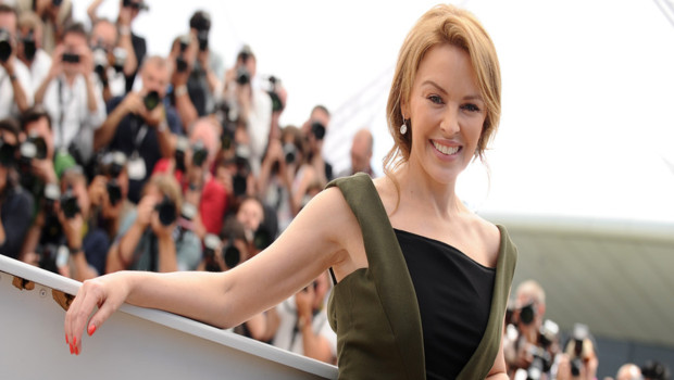 Kylie Minogue au photo-calll Holy Motors - Cannes 2012