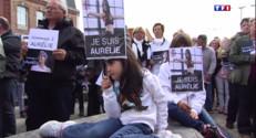 Le 13 heures du 26 avril 2015 : Nord : une marche blanche en mémoire d'Aurélie Chatelain - 609.5030000000002