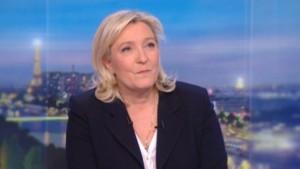 Marine Le Pen au 20h de TF1